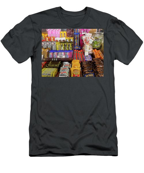 Men's T-Shirt (Athletic Fit) featuring the photograph Candyland by Joan Reese