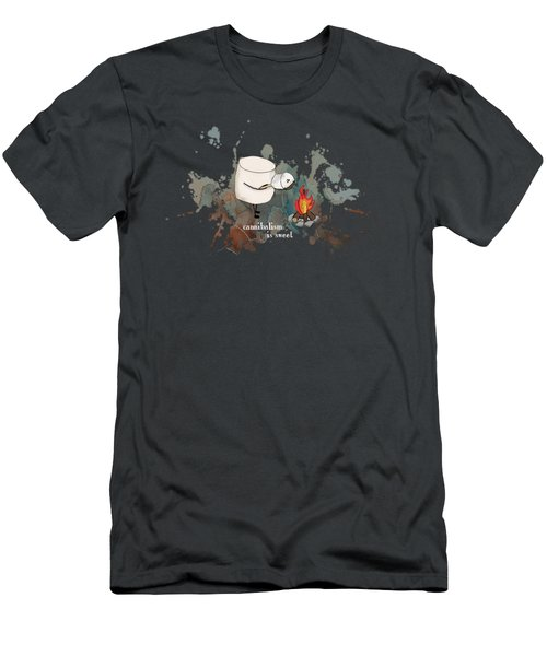 Cannibalism Is Sweet Illustrated Men's T-Shirt (Athletic Fit)