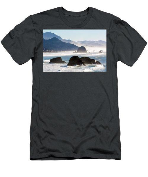 Cannon Beach On The Oregon Coast Men's T-Shirt (Athletic Fit)
