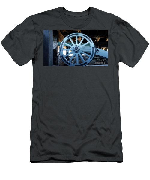 Men's T-Shirt (Slim Fit) featuring the photograph Cannon by Raymond Earley