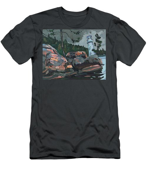 Canoe Lake Light Men's T-Shirt (Athletic Fit)