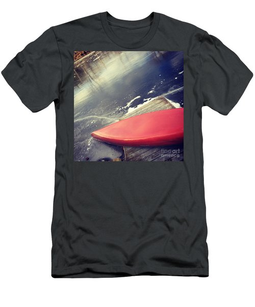 Canoe Say Winter Is Here Men's T-Shirt (Slim Fit) by Jason Nicholas