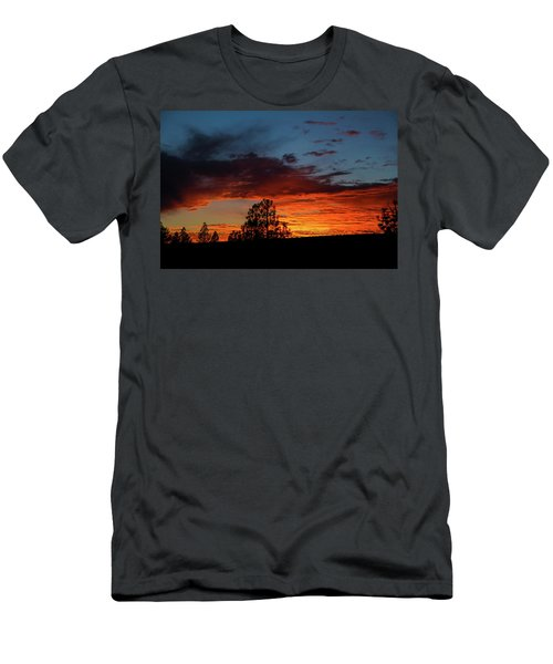 Canvas For A Setting Sun Men's T-Shirt (Athletic Fit)