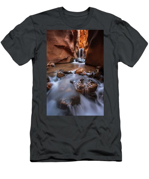 Men's T-Shirt (Athletic Fit) featuring the photograph Canyon Creek by Dustin LeFevre