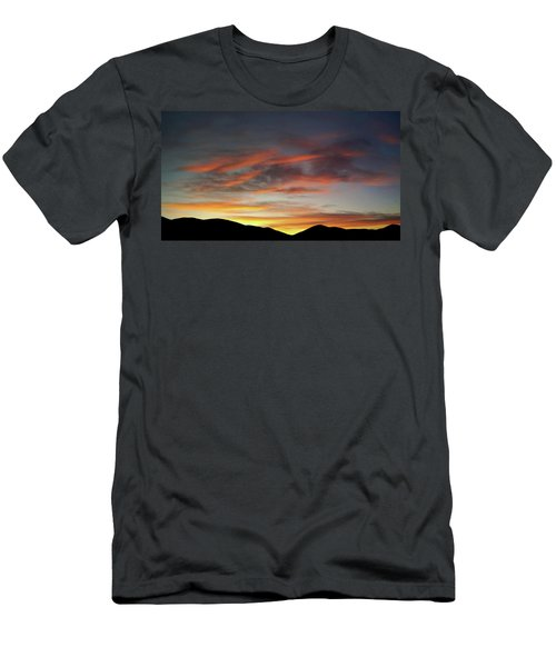 Canyon Hills Sunrise Men's T-Shirt (Athletic Fit)