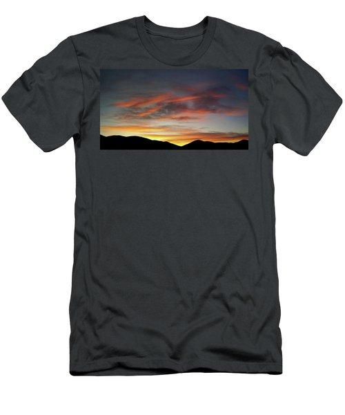 Canyon Hills Sunrise Men's T-Shirt (Athletic Fit)