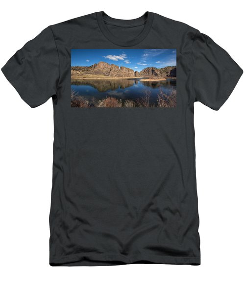 Canyon Reflections Men's T-Shirt (Athletic Fit)