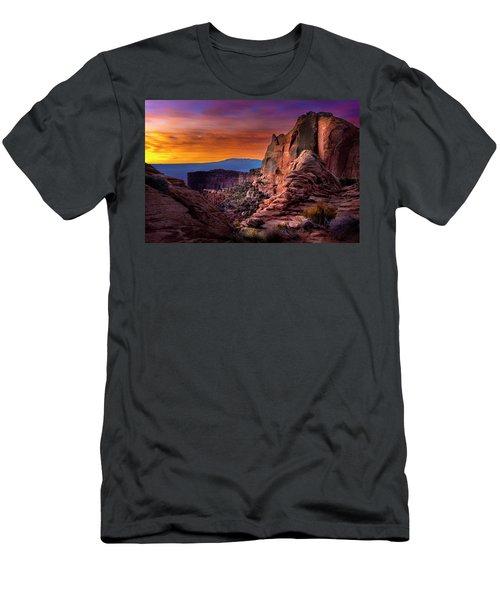 Canyonlands Sunrise Men's T-Shirt (Athletic Fit)