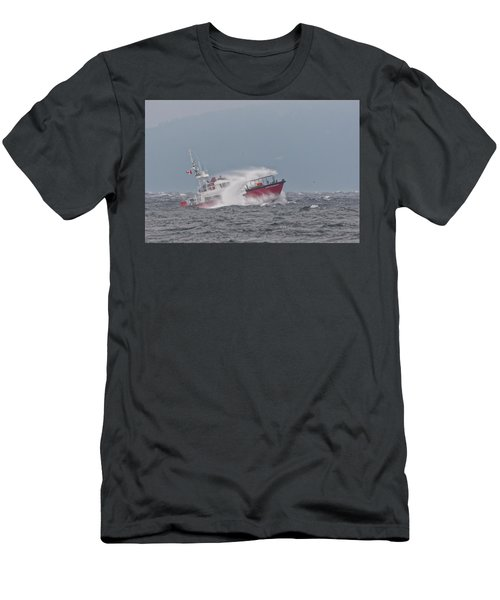 Men's T-Shirt (Slim Fit) featuring the photograph Cape Cockburn by Randy Hall