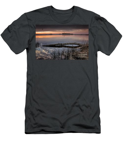 Cape Fear Sunset Serenity Men's T-Shirt (Slim Fit) by Phil Mancuso