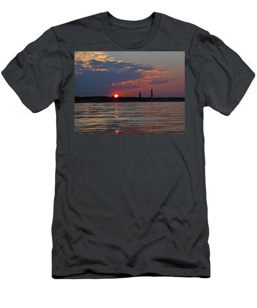 Cape Henry Sunset Men's T-Shirt (Athletic Fit)