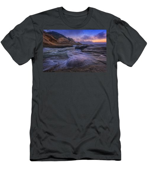 Cape Kiwanda Twilight Men's T-Shirt (Athletic Fit)