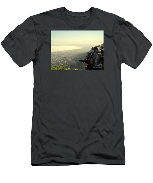 Cape Town View From Table Rock Men's T-Shirt (Slim Fit) by John Potts
