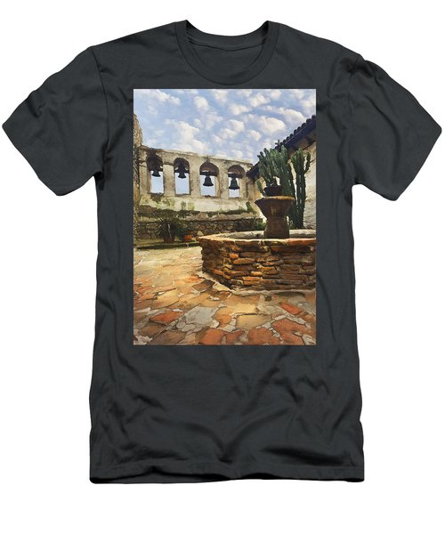 Capistrano Fountain Men's T-Shirt (Athletic Fit)