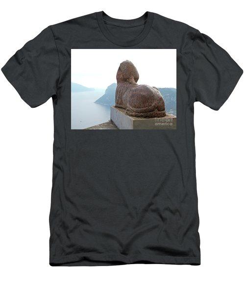 Men's T-Shirt (Slim Fit) featuring the photograph Capri, Villa San Michele 1 by Wilhelm Hufnagl