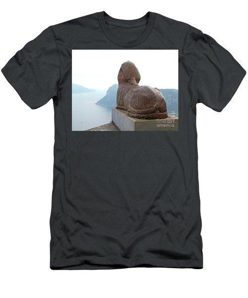 Capri, Villa San Michele 1 Men's T-Shirt (Athletic Fit)