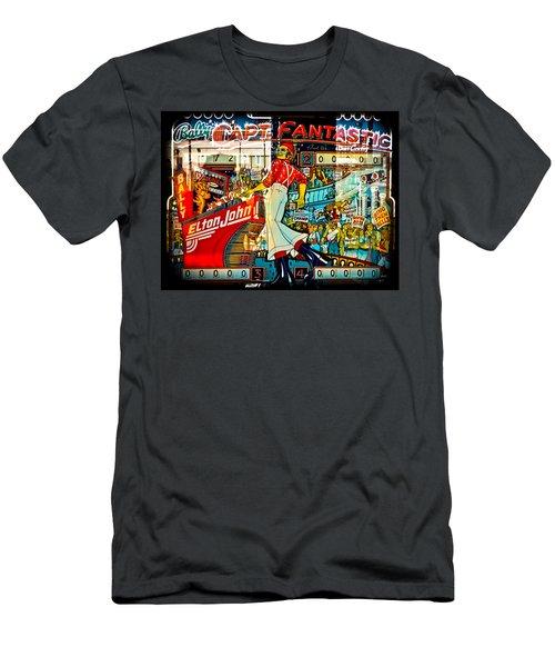 Captain Fantastic - Pinball Men's T-Shirt (Athletic Fit)