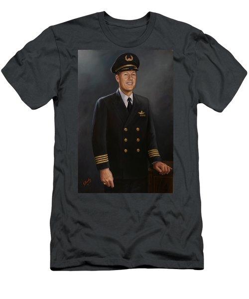 Captain Max Livingston Men's T-Shirt (Athletic Fit)