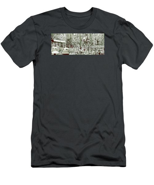 Capture On Endor Men's T-Shirt (Slim Fit) by Kurt Ramschissel