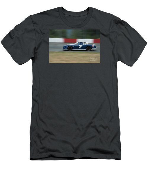 Car 7 In The Turn. Men's T-Shirt (Athletic Fit)