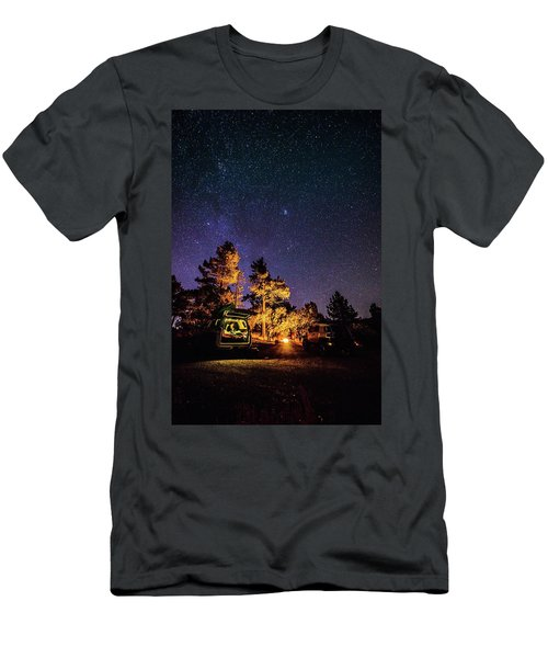 Car Camping Men's T-Shirt (Athletic Fit)