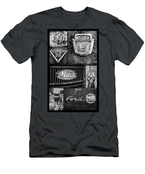 Car Emblems Men's T-Shirt (Athletic Fit)