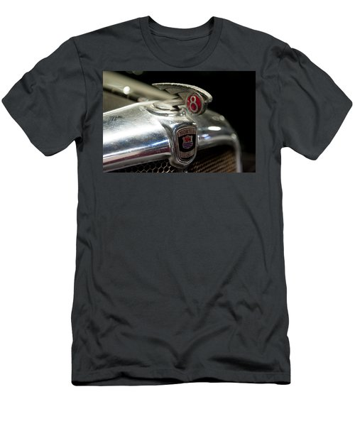 Car Mascot Iv Men's T-Shirt (Slim Fit) by Helen Northcott