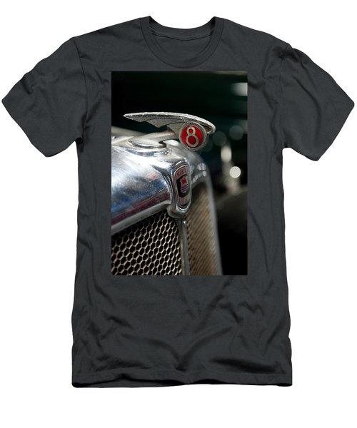 Car Mascot V Men's T-Shirt (Slim Fit) by Helen Northcott
