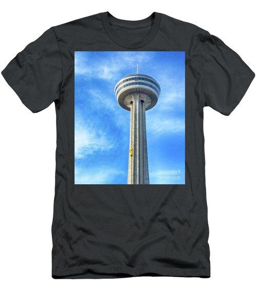 Car On Skylon Tower Men's T-Shirt (Athletic Fit)