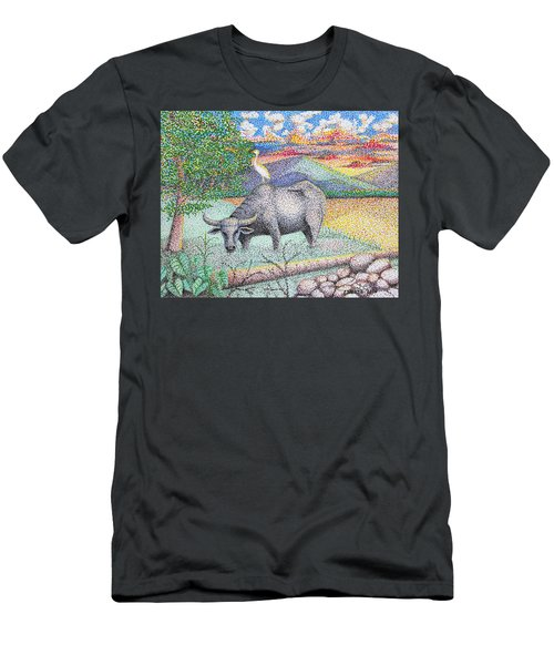 Carabao Men's T-Shirt (Athletic Fit)