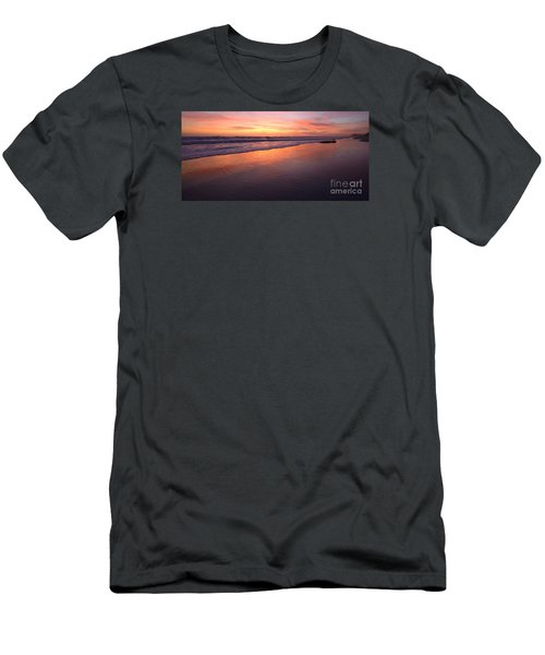 Men's T-Shirt (Athletic Fit) featuring the photograph Cardiff To Encinitas  by John F Tsumas