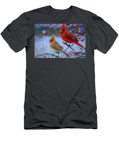 Cardinal Family Men's T-Shirt (Athletic Fit)