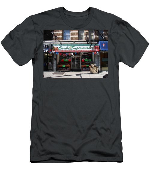 Men's T-Shirt (Slim Fit) featuring the photograph Caribe Supermarket by Cole Thompson