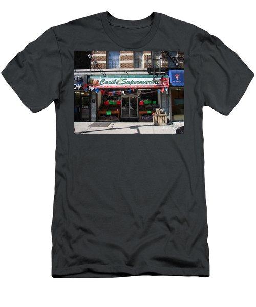 Caribe Supermarket Men's T-Shirt (Slim Fit) by Cole Thompson