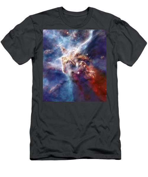 Carina Nebula Pillar Men's T-Shirt (Athletic Fit)