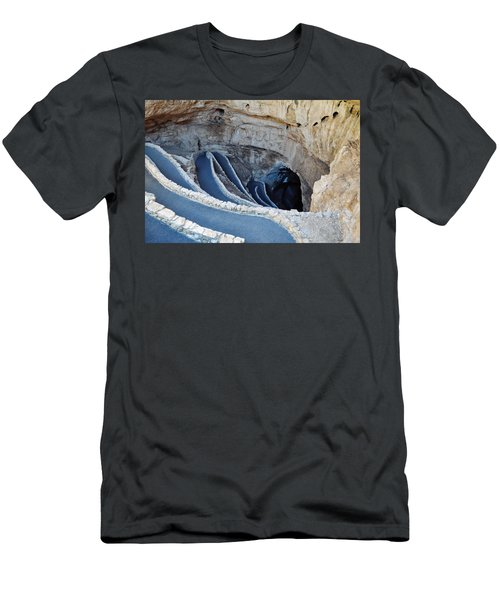 Carlsbad Caverns Natural Entrance Men's T-Shirt (Slim Fit) by Kyle Hanson
