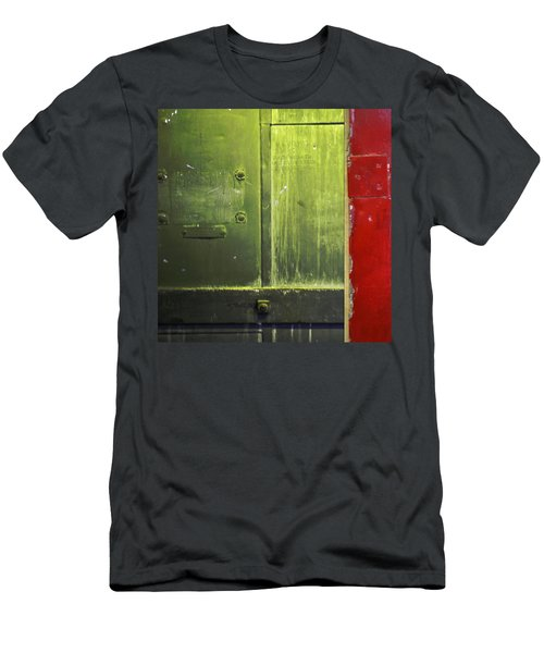 Carlton 6 - Firedoor Abstract Men's T-Shirt (Athletic Fit)
