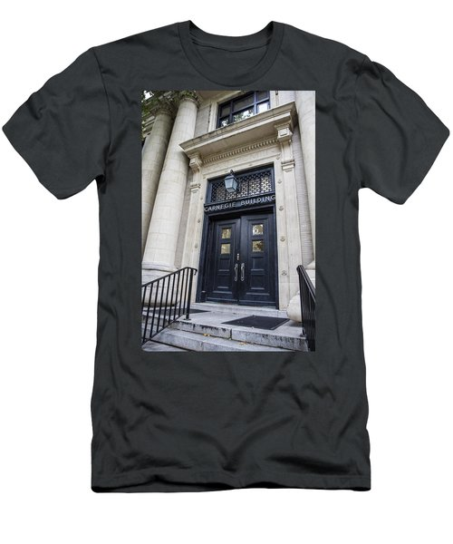 Carnegie Building Penn State  Men's T-Shirt (Athletic Fit)