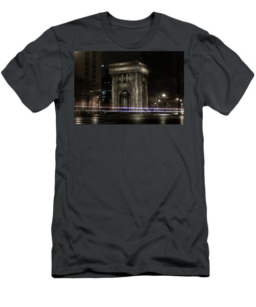 Carnegie Monument Men's T-Shirt (Athletic Fit)