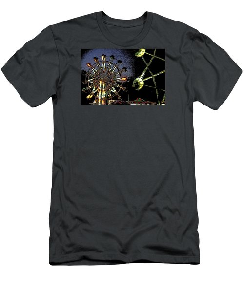 Men's T-Shirt (Slim Fit) featuring the photograph Carnival by Donna G  Smith