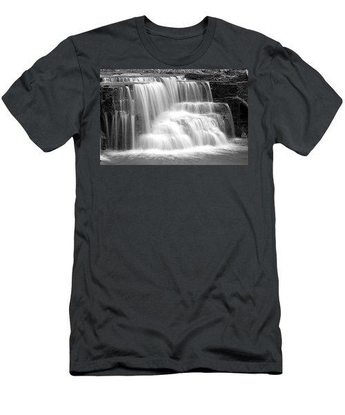 Caron Falls Men's T-Shirt (Athletic Fit)