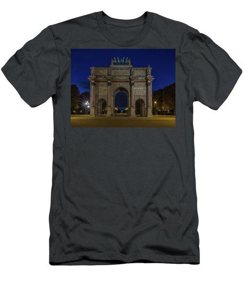 Carrousel Arc De Triomphe Men's T-Shirt (Athletic Fit)