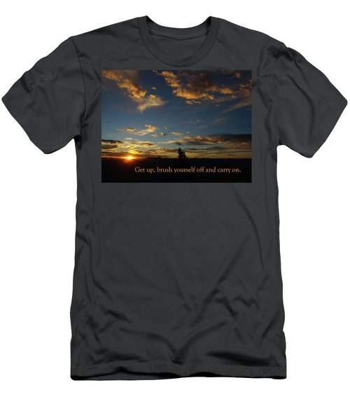 Carry On Sunrise Men's T-Shirt (Athletic Fit)