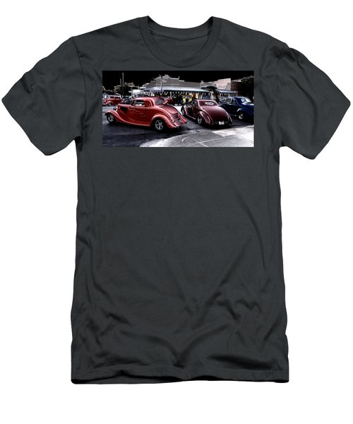 Cars On The Strip Men's T-Shirt (Athletic Fit)