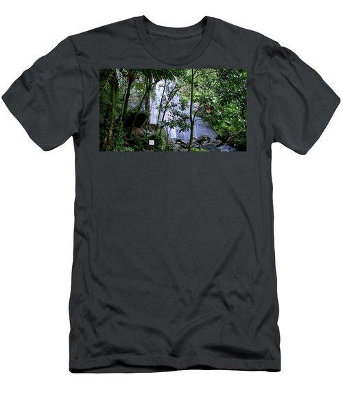 Cascada La Coca Men's T-Shirt (Athletic Fit)