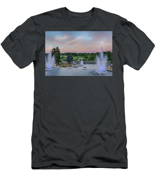 Cascade Falls Jackson Mi 2 Men's T-Shirt (Athletic Fit)