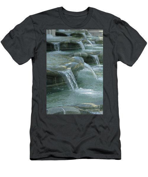 Cascading Fountain Men's T-Shirt (Athletic Fit)