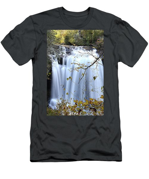 Cascading Water Fall Men's T-Shirt (Athletic Fit)