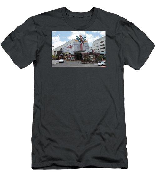 Casino Royale St. Maarten Men's T-Shirt (Slim Fit) by Christopher Kirby