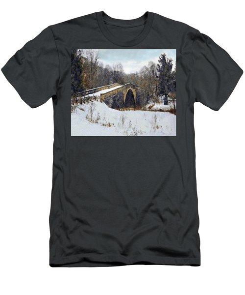 Casselman River Bridge Men's T-Shirt (Athletic Fit)